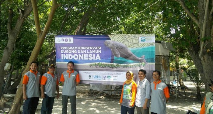 Peresmian Kampanye Dugong and Seagrass Conservation Project (DSCP) Indonesia