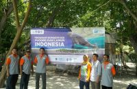 Peresmian Kampanye Dugong and Seagrass Conservation Project DSCP Indonesia