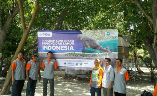 BERITA Peresmian Kampanye Dugong and Seagrass Conservation Project DSCP Indonesia